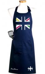 Delantal de cocina. brit�nicos o no, esta bandera da mucho juego.