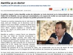 Carlos mantilla es doctor en economia y licenciado en derecho, economicas y politicas
