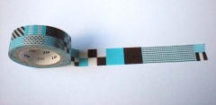 Washi tape marca mt, modelo mix blue
