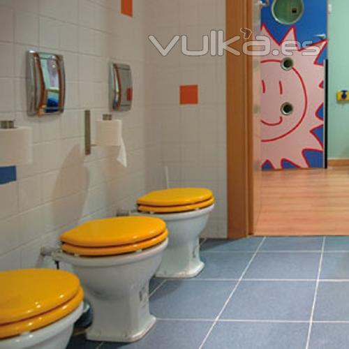 Baños Para Jardin De Ninos:Nuestros baños están adaptados para que los niños aprendan a ser