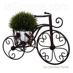 Macetas. bicicleta romantic metal una maceta 23 2 - la llimona home