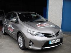 Nuevo coche de cortesía del taller Carrocerias La Galana, Vitoria-Gasteiz (Alava)