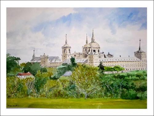 Cuadro del Monasterio de San Lorenzo del Escorial