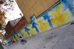 Decoraci� mural centre escolar prat de la riba reus