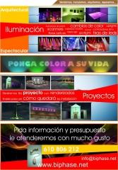 Publicidad iluminacion espectacular y arquitectural