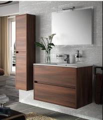 Conjunto de mueble mas lavabo y columna para ba�o . Salgar