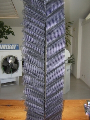 Panal c&v. soporte evaporativo para torres de refrigeraci�n, coolings y equipos de refrigeraci�n.