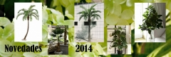 Novedades palmeras artificiales 2014 - tu terraza .... la mas bonita!