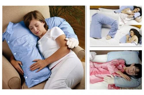 Disfruta tus momentos con una almohada con forma de pecho, ten tu propia ALMOHADA NOVIO
