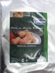 Bolsa de at�n en aceite vegetal 3 kg cavano