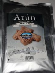Bolsa de atún en aceite vegetal 1 kg malveira