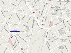 plano de localizaci�n. www.fisiomedicvalencia.com