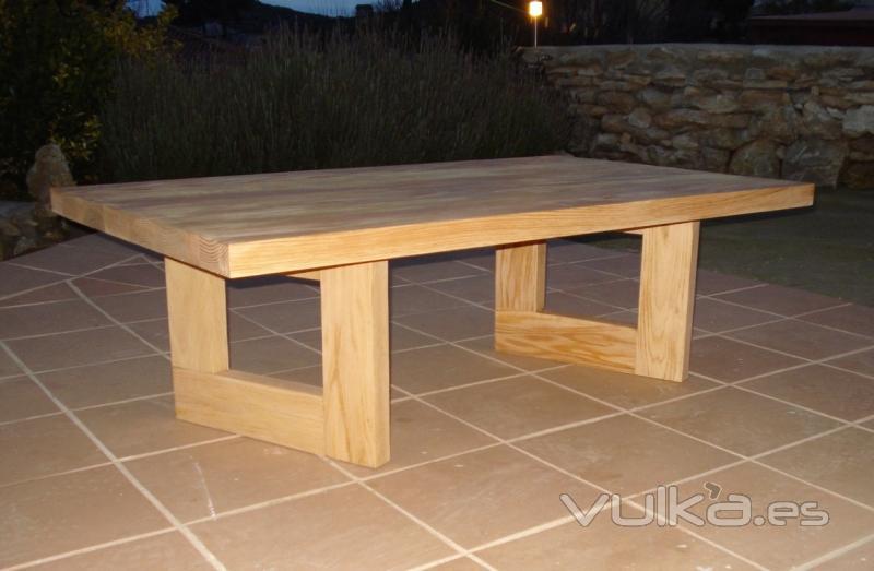 El viejo desvan muebles de madera reciclada for Diseno de muebles con madera reciclada