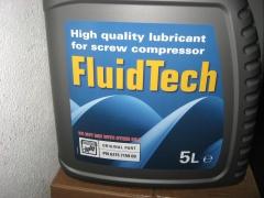 Fluidtech aceite para compresores de tornillo.