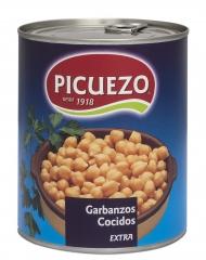Garbanzo cocido lata 1 kg