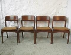 Babia bazar vintage :: conjunto de sillas de comedor biok a�os 60 :: www.babia.info
