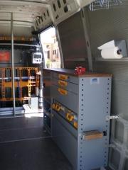 Equipamiento interior de furgonetas taller www.inansur.com/presupuesto.htm tlf. y whataps 622614293