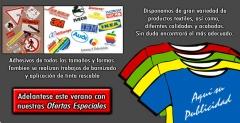 Serigraf�a Textil y de Adhesivos