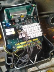 Instalacion radio control a puente grua jaso