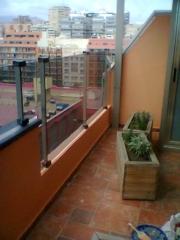 Critaleras y cerramientos en altura (17 plantas).