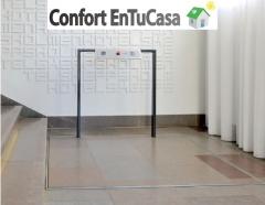 Elevador vertical oculto asturias cantabria y vizcaya + confort entucasa