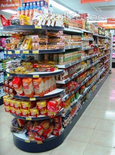 Servishop s l mobiliario comercial for Decoracion de supermercados
