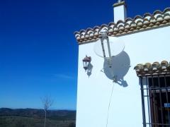 Nuestros clientes avalan nuestro servicio, aqui en plena sierra de Huelva