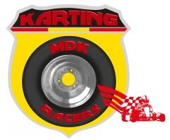 Logo para el equipo de karting mdk