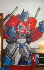 Graffiti dormitorio infantil decoraci�n