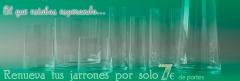 Renueva tus jarrones para san valent�n por 7eur de portes!! en articoencasa.com