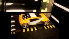 Dise�o de coche en animaci�n 3d