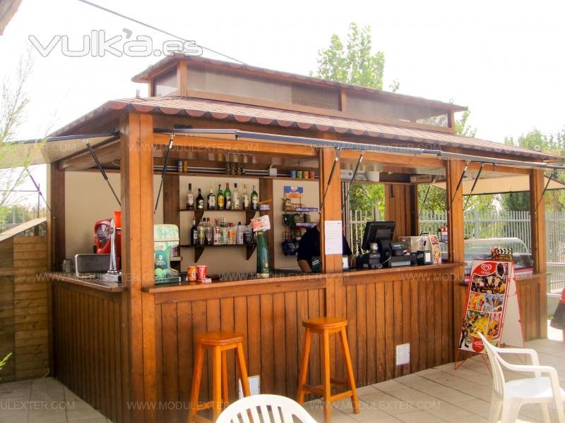 Modulexter lleida el pont de suert pol ind de sores for Bar en madera moderno