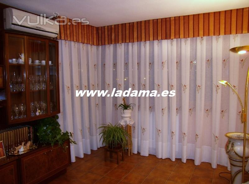 La dama decoraci n - Ultimas tendencias en cortinas ...