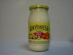 Mayonesa frasco cristal 500.