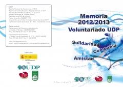 Memoria bianual de Voluntariado UDP