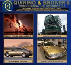 Quirino & brokers -  productos relacionados con el medio ambiente y otros especiales