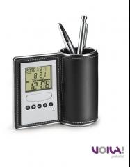 Lapicero promocional con reloj
