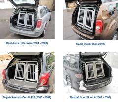 Boxes de JLS de Aluminio y contrachapeado laminado, los hay para muchos modelos y tipos