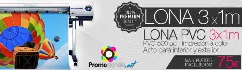 Oferta Lonas PVC - www.promocionate.net