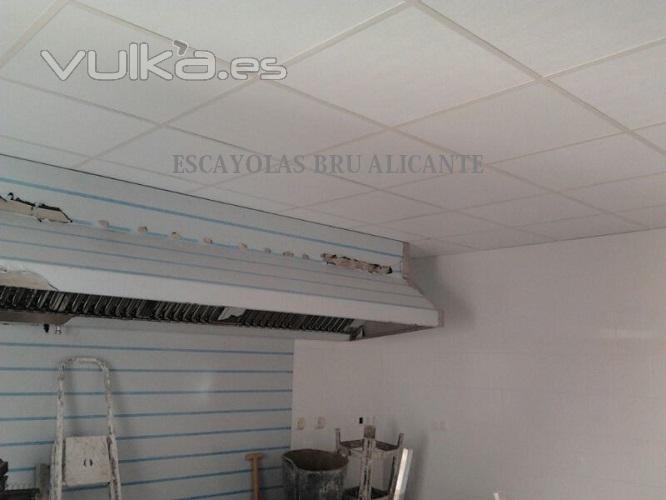 Escayolas bru - Placas de techo desmontable ...