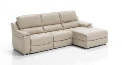 Sofa modelo etna de piel confort