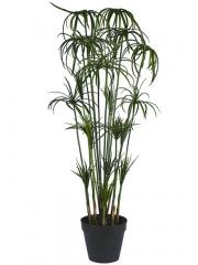 Planta cyperus artificial con maceta  Oasis Decor