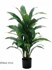 Planta cordyline artificial verde con maceta Oasis Decor