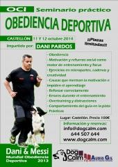 Seminario obediencia deportiva en castell�n