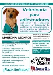 Seminario veterinaria para adiestradores en castellón