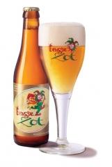 Cerveza zot blonde  llegada desde  brujas