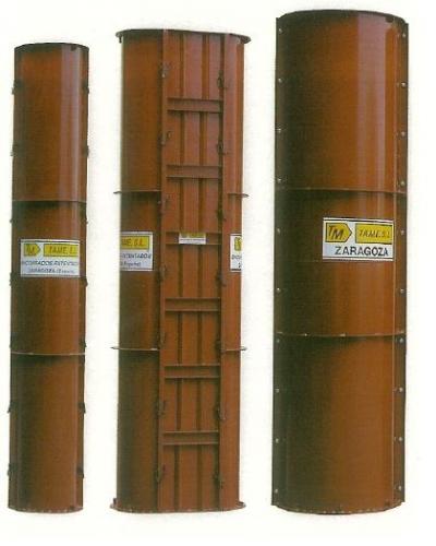 Encofrados circulares y encofrados mixtos. Fabricantes de encofrados TAME,S.L. venta directa.
