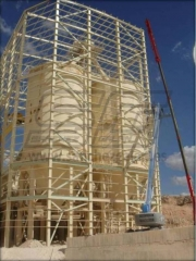 Estructura para silos