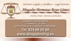 Despacho de abogados hrg