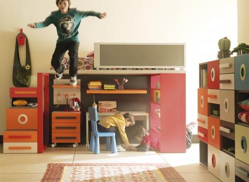 Composición 04 del catálogo de mueble juvenil Life Box de Lagrama